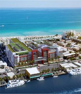 Projeto do Meliá Costa Hollywood Beach Resort, na Flórida