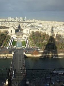 A Torre Eifel, vista da Eifel
