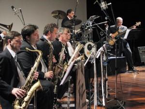 Jazz Big Band é uma das grandes atrações da noite