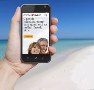 Rede social para 'coroas' agora também no mobile