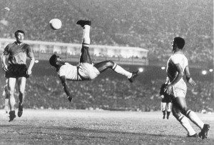 Precisão e leveza: é Pelé!