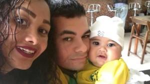 Karine, Mike e Bernardo