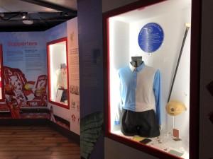 Sinal-de-respeito-e-precisão-história: museu-do-Liverpool-começa-com-um uniforme-do-Everton.