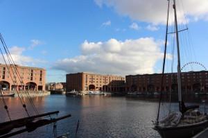 Belo e recheado de atrações Albert Dock