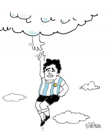 Morre Maradona, o mais espetacular da História